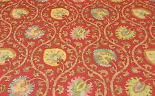 "BRAEMORE ODEN SPICE MARKET JACOBEAN FLORAL FABRIC BY THE YARD 54"" WIDE"