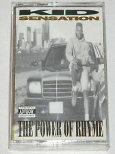 "KID SENSATION The Power of Rhyme TAPE CASSETTE Random Private Rap Funk 12"" lp 45"