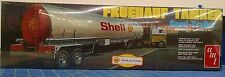 AMT 918 Fruehauf Tanker Shell Semi-Trailer Model Kit Mid America
