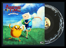 ADVENTURE TIME Music of Ooo LP BLACK/WHITE COLOR VINYL New SEALED Gunter Variant