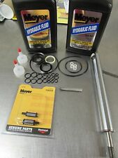 "MEYER SNOW PLOW PUMP E46 E46H E47 E47H E57 E57H SEAL KIT W/ 8"" RAM AND OIL"