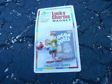 VINTAGE MIP LUCKY CHARMS CEREAL lucky charms MAGNET (S17B)