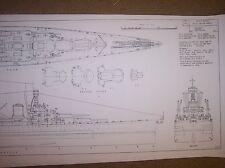 BATTLECRUISER UNITED STATES ship boat model boat plans