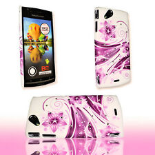 Design STRASS 2 TPU Back Cover per Cellulare Case per Sony Ericsson Xperia x12 Arc Arc S