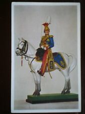 POSTCARD THE 9TH LIGHT DRAGOONS LANCERS OFFICER REVIEW ORDER C1820