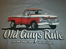 "OLD GUYS RULE "" THEY DON'T MAKE THEM LIKE THEY USE TO ""TRUCK S/S T-SHIRT SIZE 3X"