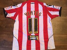 2010 2011 Sheffield United Yeates Match Worn Club COA Marie Curie Football Shirt