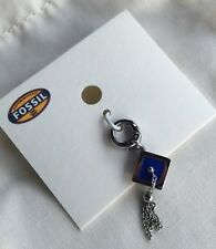 Fossil Brand Graduation Cap Charm Stainless Steel NWT
