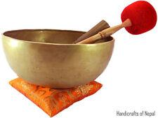 """Singing Bowl - Tibetan Singing Bowl - Meditation Bowl-Handmade Bowl -7 Metal 11"""""""