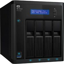 Wd 0tb My Cloud Pr4100 Pro Series Diskless Media Server With Transcoding, Nas -