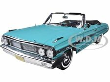 1964 FORD GALAXIE 500 OPEN CONVERTIBLE PAGODA GREEN 1/18 MODEL BY SUNSTAR 1424