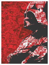 STAR WARS DARTH VADER by JOSHUA BUDICH Print SIX AGAINST THE GALAXY Marvel S/N