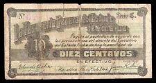 Tesoreria General del Estado de Sinaloa 10 Centavos 1914, M3754 / SI-SIN-6 F