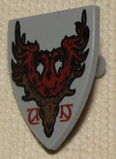 LEGO DURMSTRANG STAG COAT OF ARMS CASTLE KNIGHT DEER SHIELD