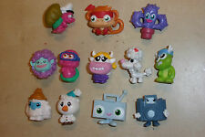 12x Cool Moshi Monsters Figuras Original 5x 2011 serie 1 2x 2012 y 5x sin marcar