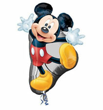 "Disney Mickey Mouse Super Shape 31""x 22"" Jumbo Foil Balloon Birthday Supplies"