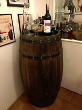 Oak Wood Wine Barrels Decoratetion.