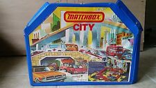 "Vintage Matchbox (Full Color City Play Set) Lesney England ""1976"" Complete"