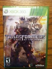 XBOX 360 TRANSFORMERS DARK OF THE MOON BRAND NEW VIDEO GAME