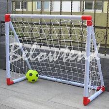 Full Size Soccer Football Goal Post Net Sports Training Match1.8X1.2  New