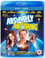 Absolutely Anything NEW Cult Blu-Ray Disc Terry Jones Simon Pegg Kate Beckinsale