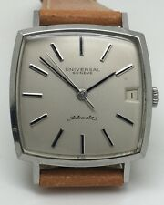 Universal Polerouter with date - RARE Square watch