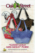 Good G0lly Miss Molly Purse 22x14 Bag Handbag - Oak Street Quilts Sewing Pattern