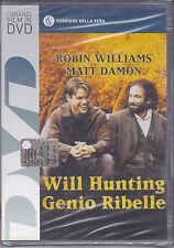 Dvd **WILL HUNTING ♦ GENIO RIBELLE** con Robin Williams Matt Damon nuovo 1998
