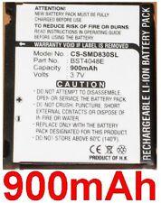 Batterie 900mAh Pour SAMSUNG SGH-D830, SGH-D838, SGH-X820, SGH-X828