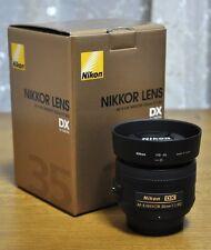 Nikon AF-S DX Nikkor 35mm f/1.8G Autofocus Prime Lens *New*