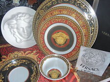 VERSACE MEDUSA 5 PLACE SETTING ROSENTHAL WEDDING GIFT SALE