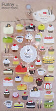 Funny Sticker World Patisserie Special Gift for Everyone Sticker Sheet~KAWAII!!
