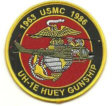 USMC UH-1E Huey Gunship 1963-1986 Patch
