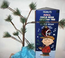 Peanuts Charlie Brown Musical Christmas Tree 50 Year Special Edition *see demo*