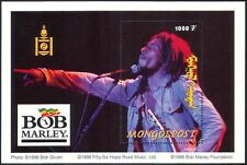 Mongolia 1998 BOB MARLEY/Reggae/Music/People/Entertainers 1v m/s (n17503)