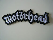 MOTORHEAD PATCH Embroidered Iron On Sew On Heavy Speed Metal Badge Logo NEW