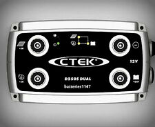 Ctek D250S Dual DC to DC Battery Smart Charger 12 Volt + Bonus Ctek Backpack