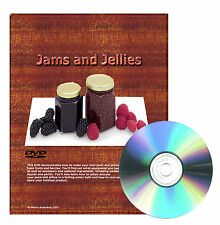 Step by step How to make Jams and Jellies, equipment, preparations, storage DVD