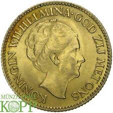 E566) Niederlande-Königreich 10 Gulden 1925 Wilhelmina I. 1890-1948