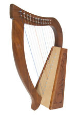 ROOSEBECK BABY HARP 12-STRING W/TUNING TOOL/EXTRA STRINGS