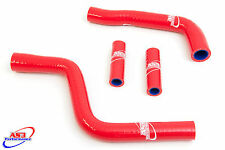 YAMAHA YZ 125 2002-2017 HIGH PERFORMANCE SILICONE RADIATOR HOSES RED