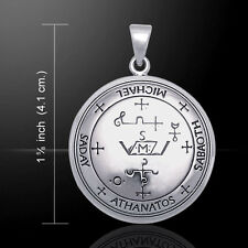 Sigil of Archangel Michael .925 Sterling Silver Pendant by Peter Stone