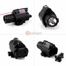 Tactical Red Laser Sight & CREE LED Flash Light Combo - rifle shotgun 20mm Rail