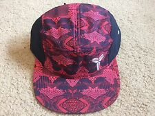 New Nike Kobe 4th of July AW84 Camp Cap Hat Red/Navy Blue