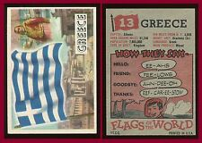 1956 Topps Flags of the World #13 Greece EX+ **AA-6574**