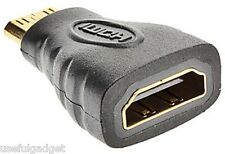 Mini HDMI(Type C) Male to HDMI(Type A) Female Adapter Connector