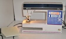 Husqvarna Viking Rose 600 Computerized Sewing Machine & Embroidery Plus Hoops