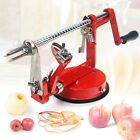Apple Slicer Peeler Corer Cutter Slinky (apple slinky) Core Machine Red NEW