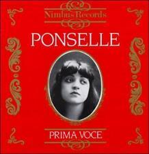 Prima Voce: Ponselle (CD, Oct-1989, Nimbus)