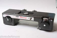 Durst Mirep 35mm Duplicator w Both Spools Broken Target Glass Shutter OK USED E2